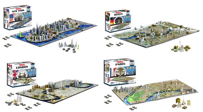 Städer 4D