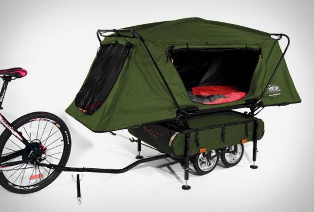 Cykelcamping
