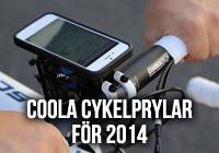 Coola Cykelprylar för 2014