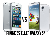 iPhone 5S eller Samsung Galaxy S4?