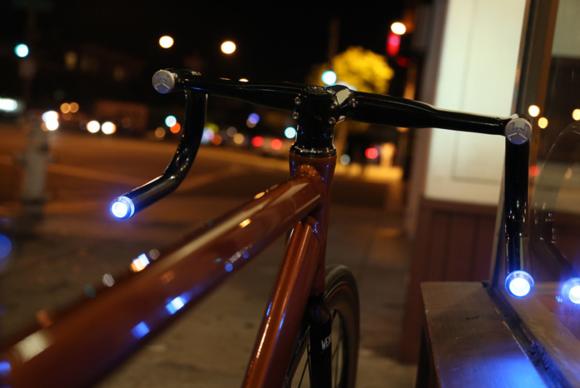 Cykellampa i styret