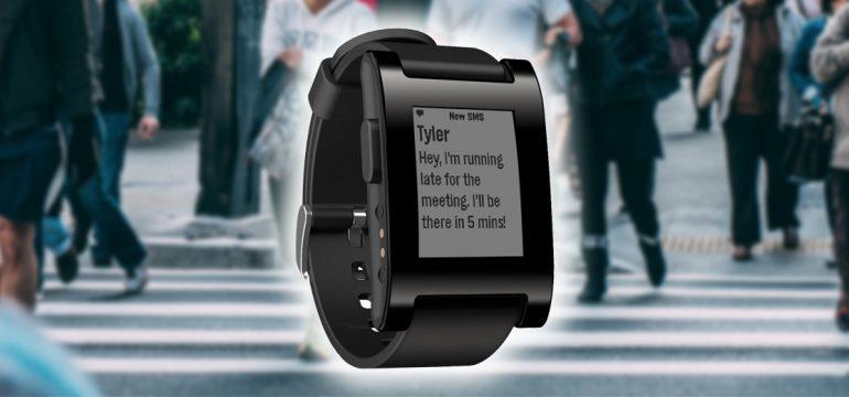 Smart klocka från Pebble - Geekblogg.se