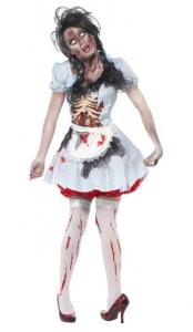 Zombie Maskeraddräkt Dam