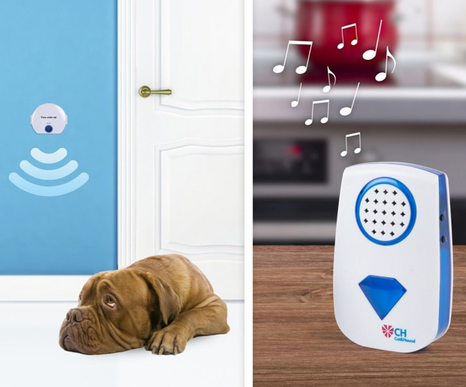 Dog doorbell - Geekblogg.se