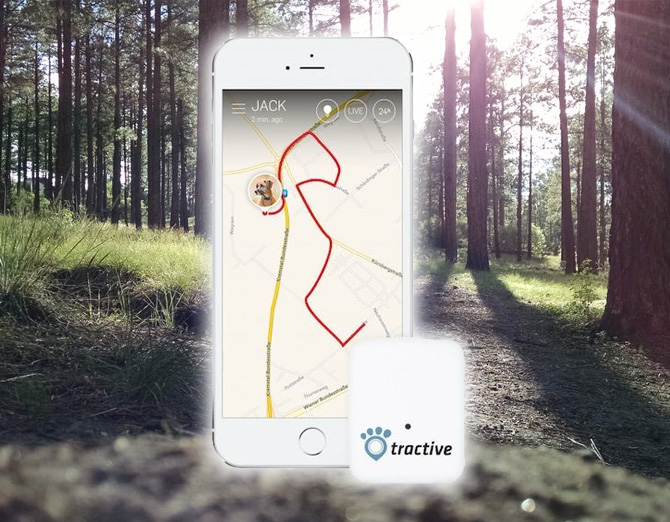 Tractive GPS - Geekblogg.se